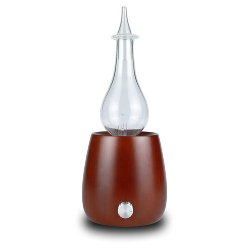 Essential Oil Diffuser Aromatherapy Nebulizer (Light and Dark Wood)