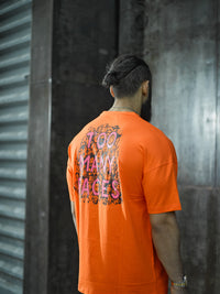 Too Many Faces OVS T-Shirt (Orange)