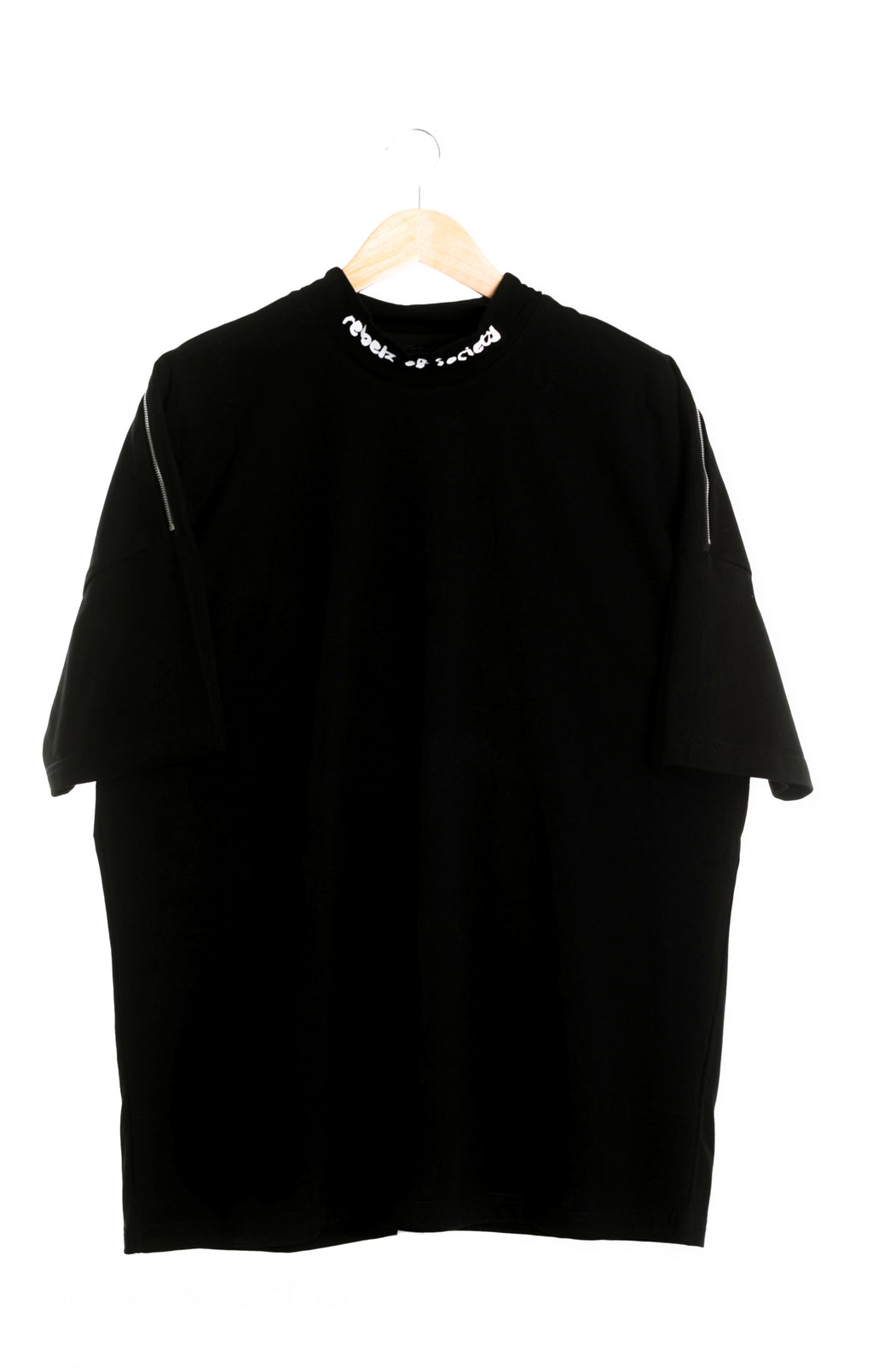 """Every Rebel Has A Story"" Signature Oversized Tshirt - Mens"
