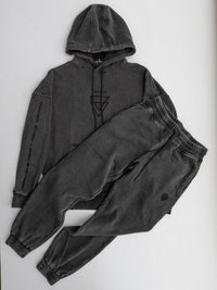 Off--Black Vintage Washed Sweatpants