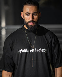 """WE THE REBELZ"" Signature Oversized T-shirt - Mens"