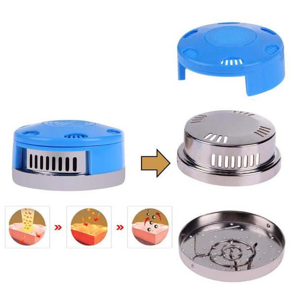 Portable Moxibustion Box Stainless Steel Moxa Stick Holder Moxa Roll Case Relaxation Health Care Tool