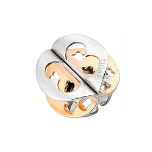 Choice - Anello donna Farfalle Bicolor in Acciaio Inossidabile - monility