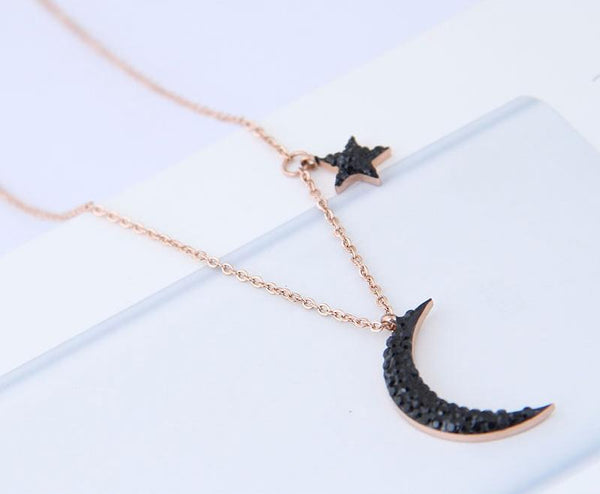 Collana donna Black Moon