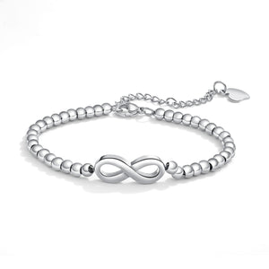 Bracciale donna Infinity silver
