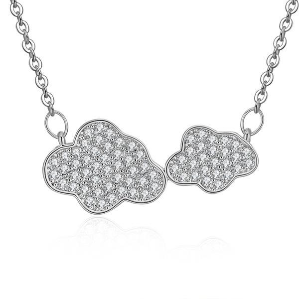 Collana donna Clouds silver - monility