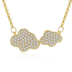 Collana donna Clouds gold - monility