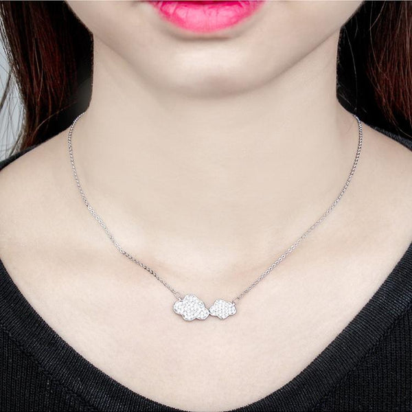 Collana donna Clouds silver