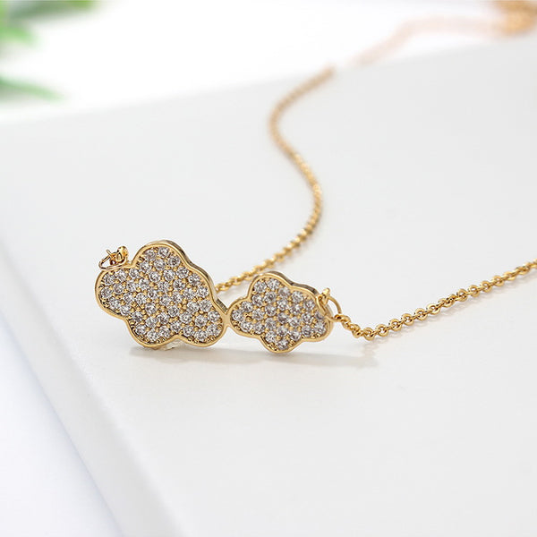 Collana donna Clouds gold