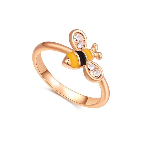 Anello donna Little Bee gold misura 14-15