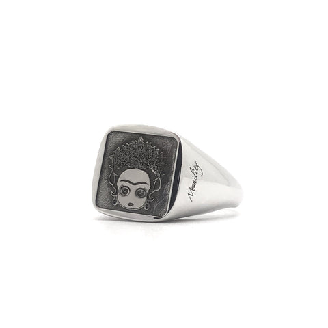 Argento 925 - Anello donna Chevalier Frida regolabile - monility