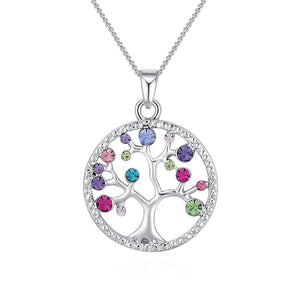 Collana donna Life Tree silver