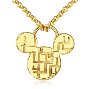 Collana donna Mickey gold
