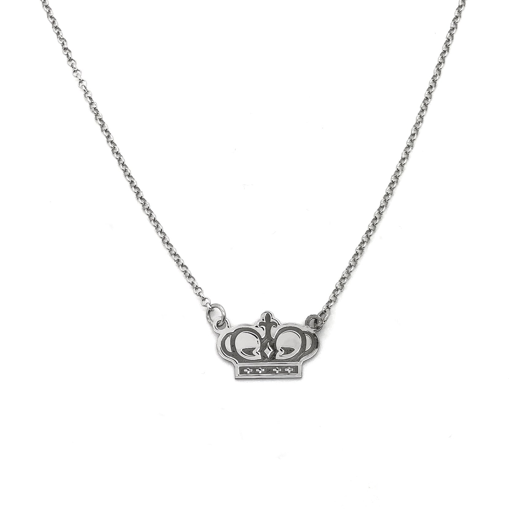 Argento 925 - Collana donna Crown - monility