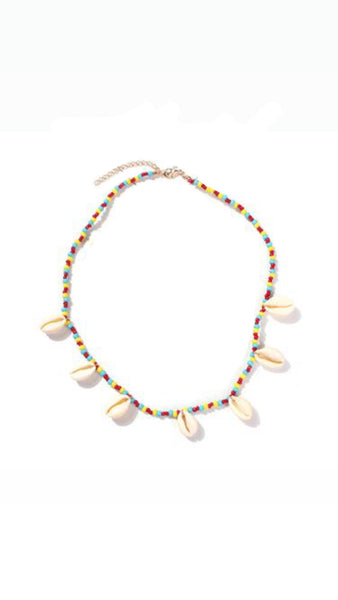Collana donna multicolor Conchiglie