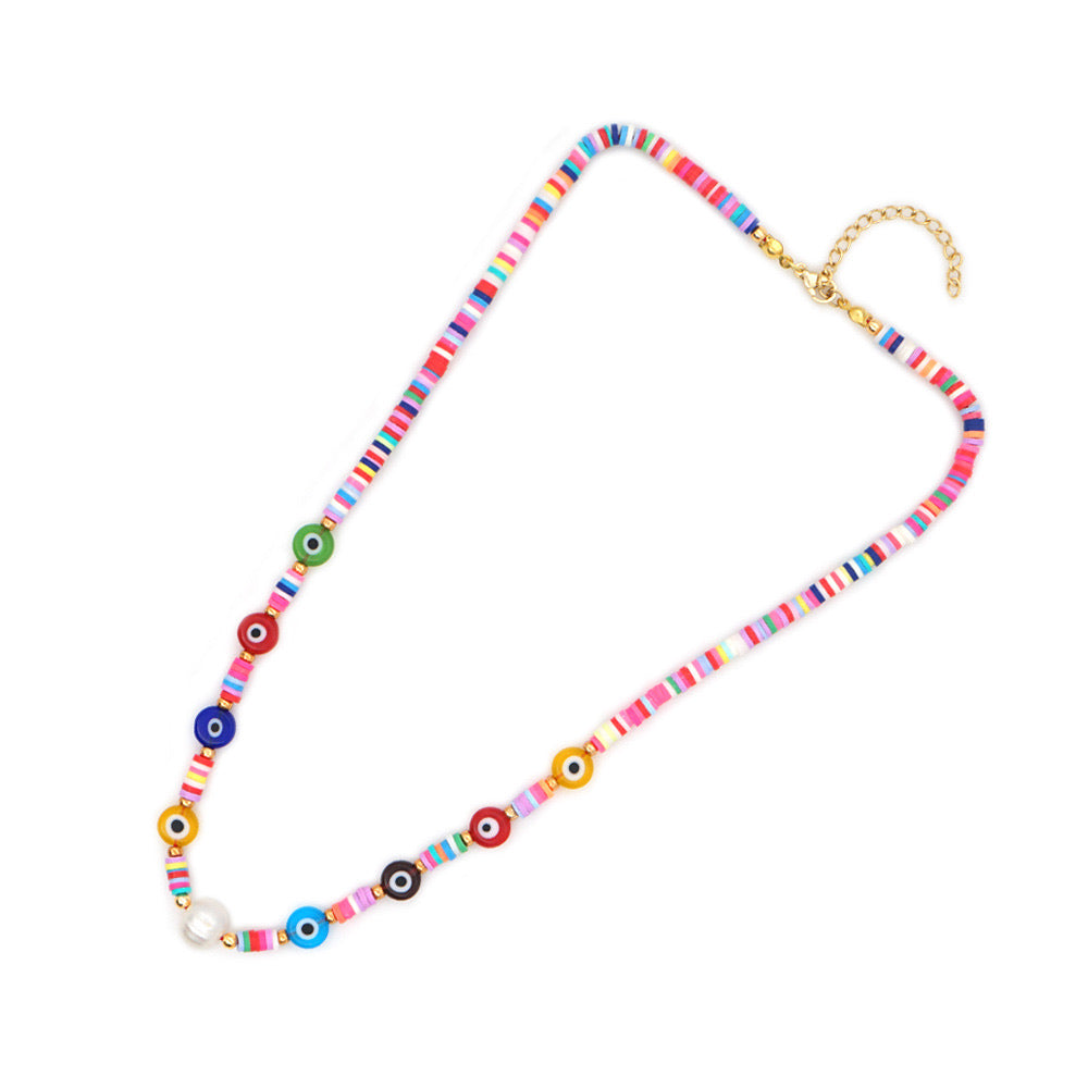 Collana donna Ibiza multicolor