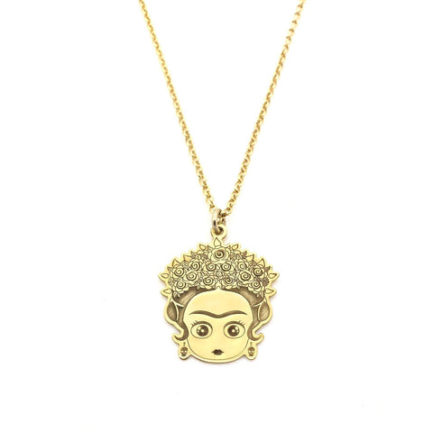 Argento 925 - Collana donna Frida Gold - monility