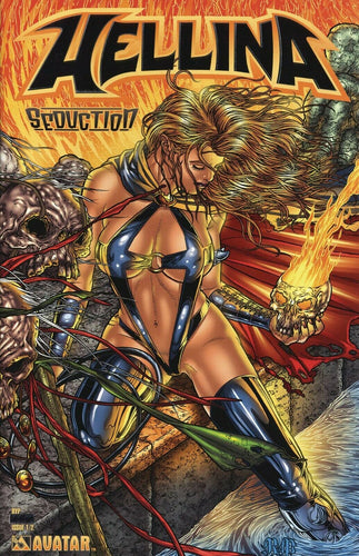 HELLINA SEDUCTION #1/2 PLATINUM FOIL VARIANT