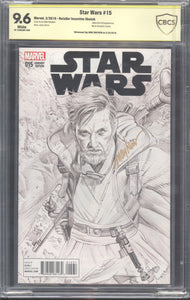 Star Wars #15 Retailer Sketch 1:100