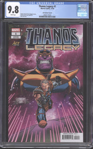 Thanos Legacy #1 Ace Comic Con Lim Cover B