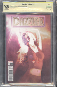 Dazzler: X-Song #1 CBCS 9.8 Signed by Bill Sienkiewicz