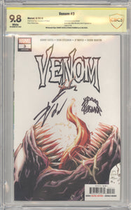 Venom# 3 CBCS 9.8 CBCS 9.8 signed Stegman and Cates