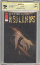 Load image into Gallery viewer, Redlands #1 Gold Foil Exclusive CBCS 9.6 signed by Vanesa Del Rey