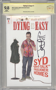 DYING IS EASY #1 SIMMONDS 1:25 CBCS 9.8 signed Joe Hill