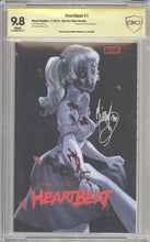 Load image into Gallery viewer, Heartbeat #1 (Thank You variant), CBCS 9.6 Signed Andolfo