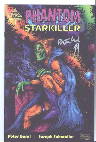 Phantom Starkiller #1 NYCC 2020 signed by Joseph Schmalke and Peter Goral
