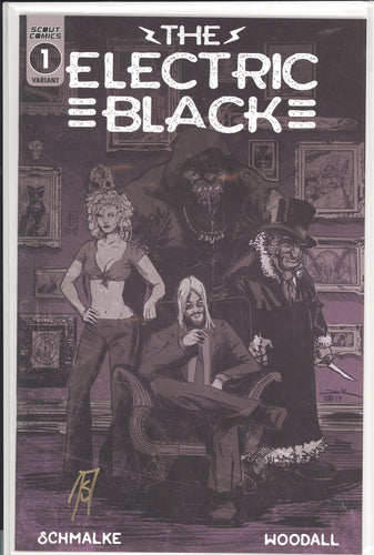 Electric Black #1 Cover WebStore Signed by Joseph Schmalke
