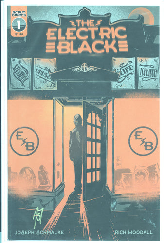 Electric Black #1 Cover A Signed by Joseph Schmalke