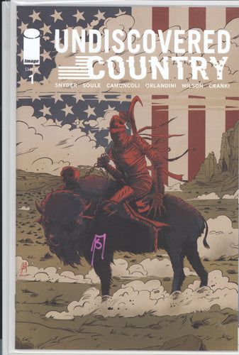 Undiscovered Country #1 Schmalke Variant Signed by Joseph Schmalke