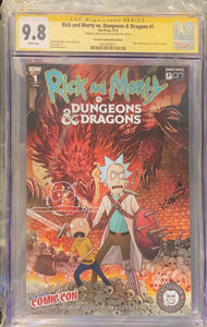 Rick and Morty vs Dungeons & Dragons #1 Excelsior