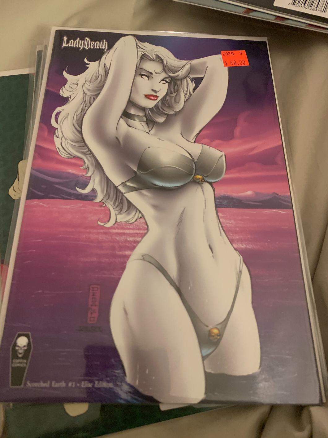Lady Death Scorched Earth #1 DeBalfo
