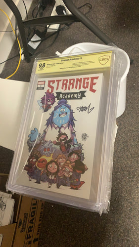 Strange Academy #1 CBCS 9.8 Young Store Variant signed by Young