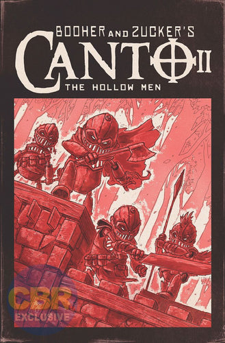 Canto II: The Hollow Men #1 Ben Bishop 1:10 TMNT Homage CGC with Chase