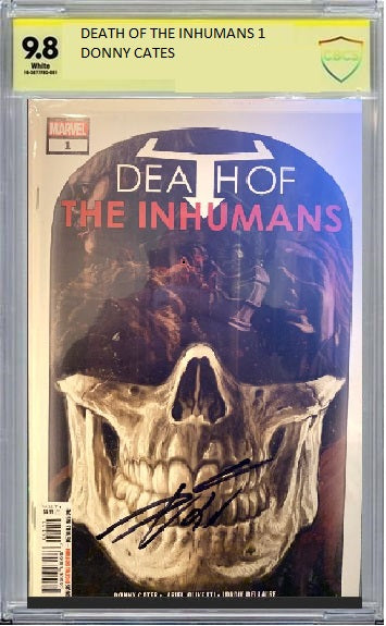 DEATH OF THE INHUMANS #1 CBCS ASP