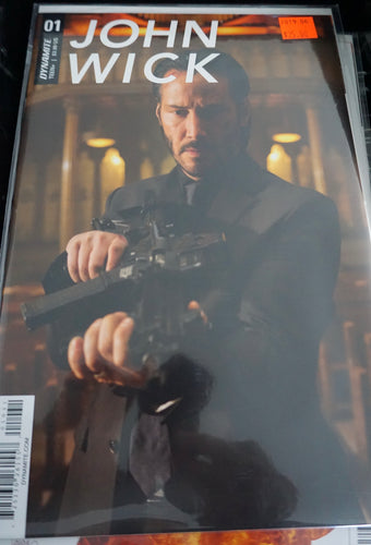 John Wick #1 Photo variant