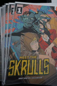 Meet the Skulls #1 Cover A
