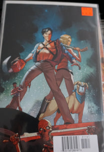 DEATH TO ARMY OF DARKNESS #1 ANDOLFO LTD VIRGIN