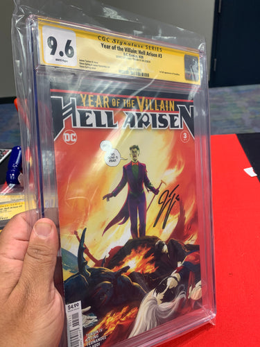 Year of the Villain Hell Arisen #3 CGC SS Tynion 9.6