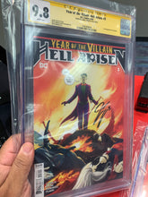 Load image into Gallery viewer, Year of the Villain Hell Arisen #3 CGC SS Tynion 9.8