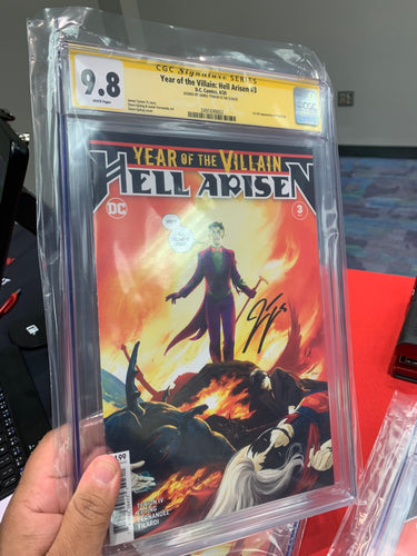 Year of the Villain Hell Arisen #3 CGC SS Tynion 9.8