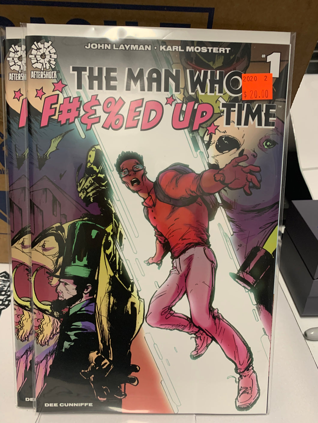 THE MAN WHO F#&%ED UP TIME #1 1:15 VARIANT