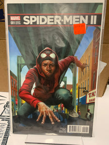 SPIDER-MEN II #1 VARIANT 1:10