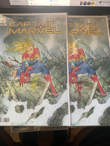 The End Captain Marvel #1