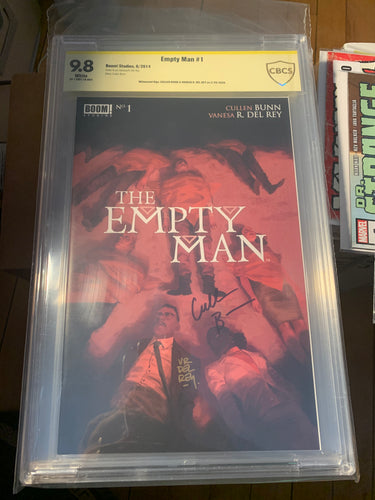 The Empty Man #1 CBCS 9.8 Signed by Cullen Bunn Vanesa del Rey