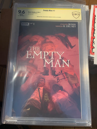 The Empty Man #1 CBCS 9.6 Signed by Cullen Bunn Vanesa del Rey
