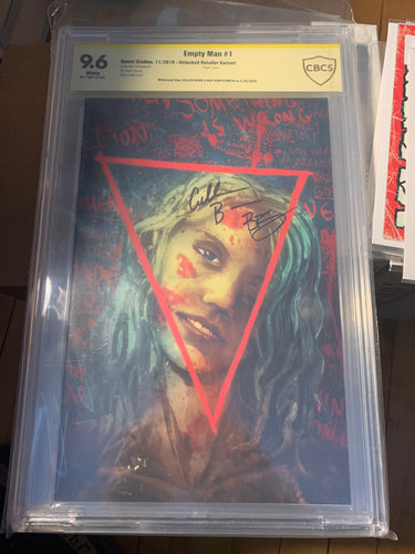 The Empty Man #1 CBCS 9.6 Signed by Cullen Bunn Ben Templesmith